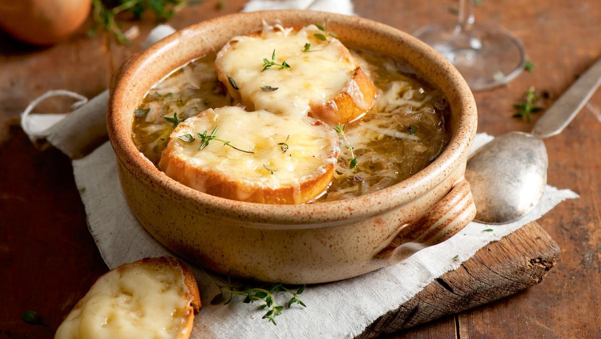 Kuchnia Francuska Zupa Cebulowa Zapiekanka Ziemniaczana I