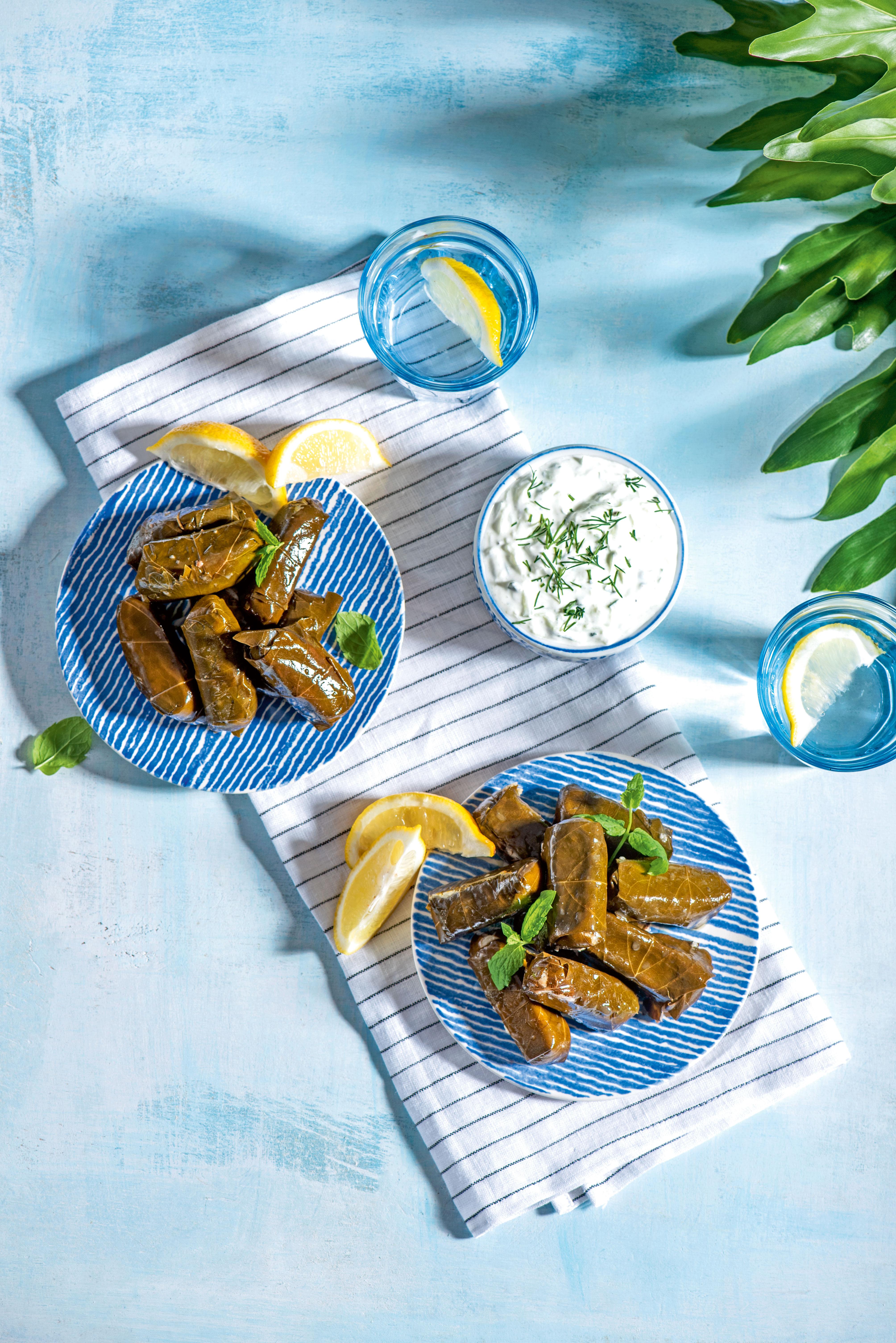 Kuchnia Grecka Sos Tzatziki Musaka Dolmadakia Przepisy