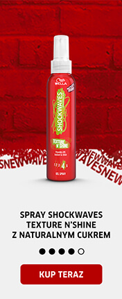 Spray Shockwaves Texture'n'Shine z naturalnym cukrem