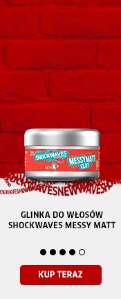 Glinka do włosów Shockwaves Messy Matt