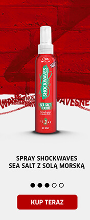 Spray Shockwaves Sea Salt z solą morską