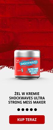 Żel w kremie Shockwaves Ultra Strong Mess Maker