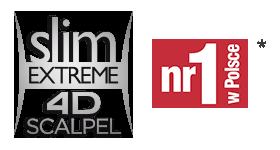 slim extreme 4d scalpel logo