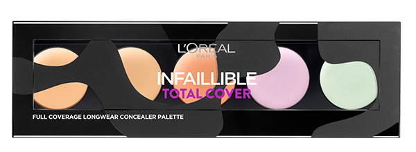 LOreal Paris Infallible Total Cover Palette