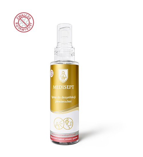 Medisept - Spray do dezynfekcji rąk