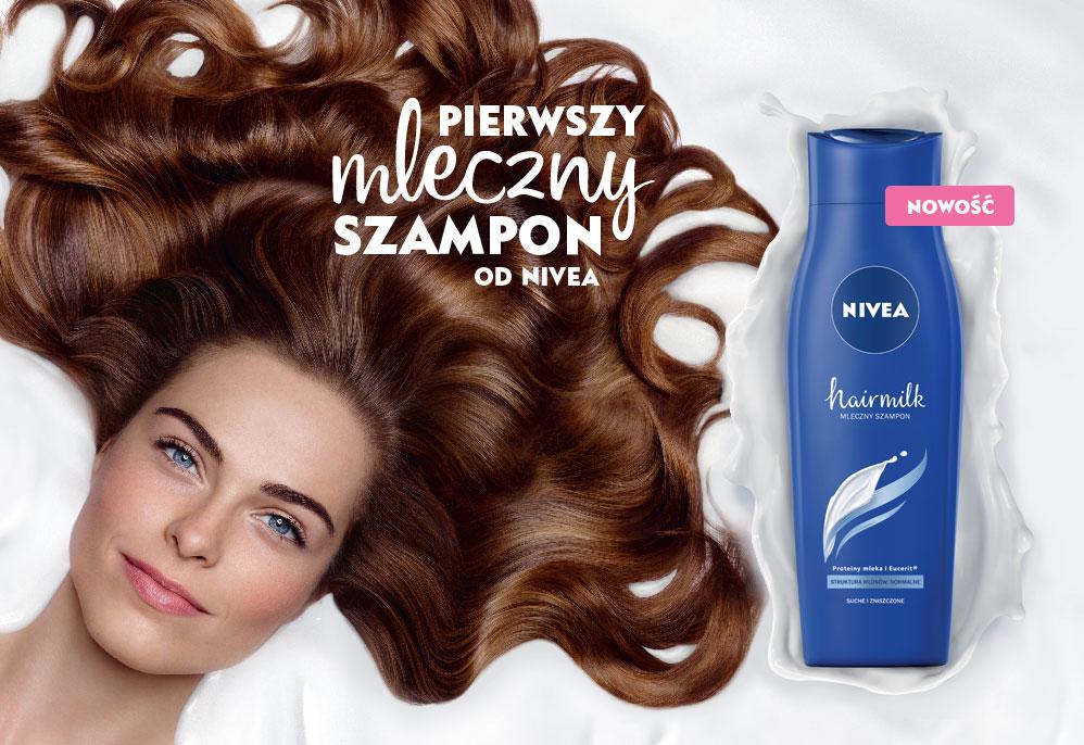 Pierwszy mleszny szampon od NIVEA
