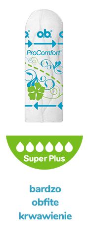 Super Plus - bardzo obfite krwawienie